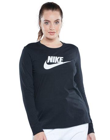 Womens Long Sleeve Futura T-Shirt