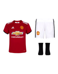 Infants Man Utd 17/18 Home Kit