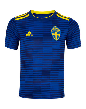 Kids Sweden WC18 Away Jersey
