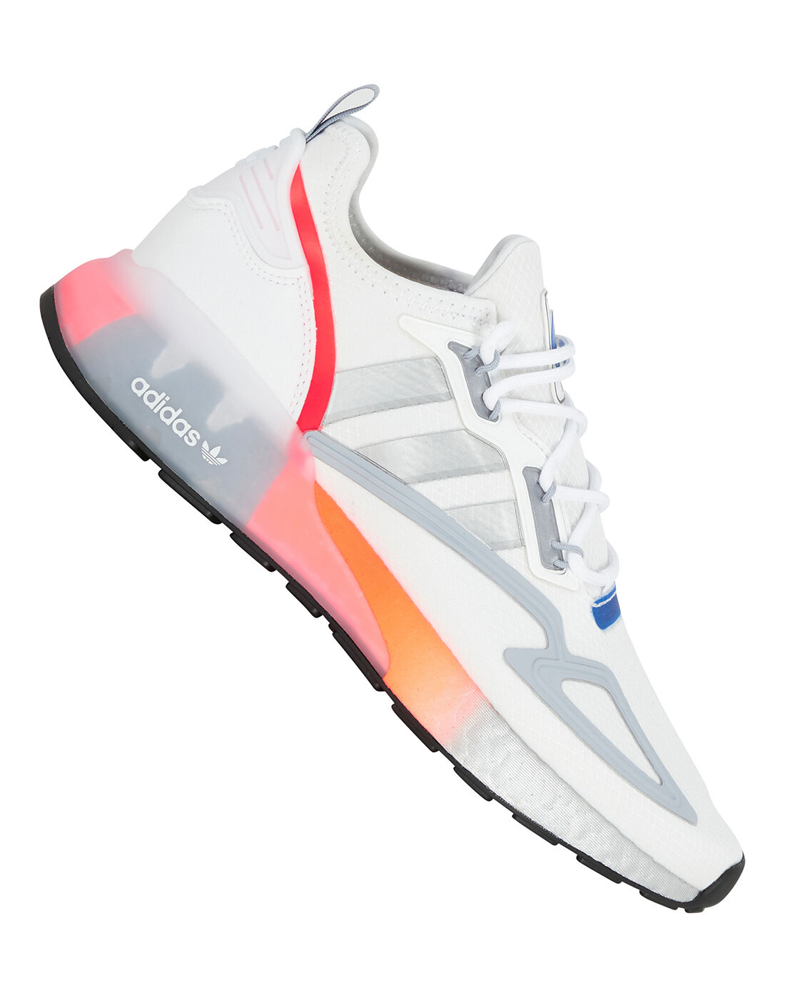 adidas Originals Mens ZX 2K Boost Space Race - White   Life Style ...