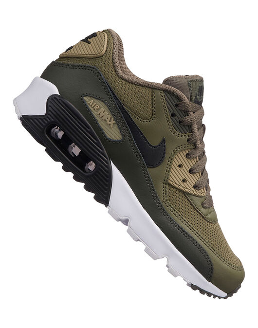 best service ff213 dae5b Kids Nike Air Max 90 Mesh | Green | Life Style Sports
