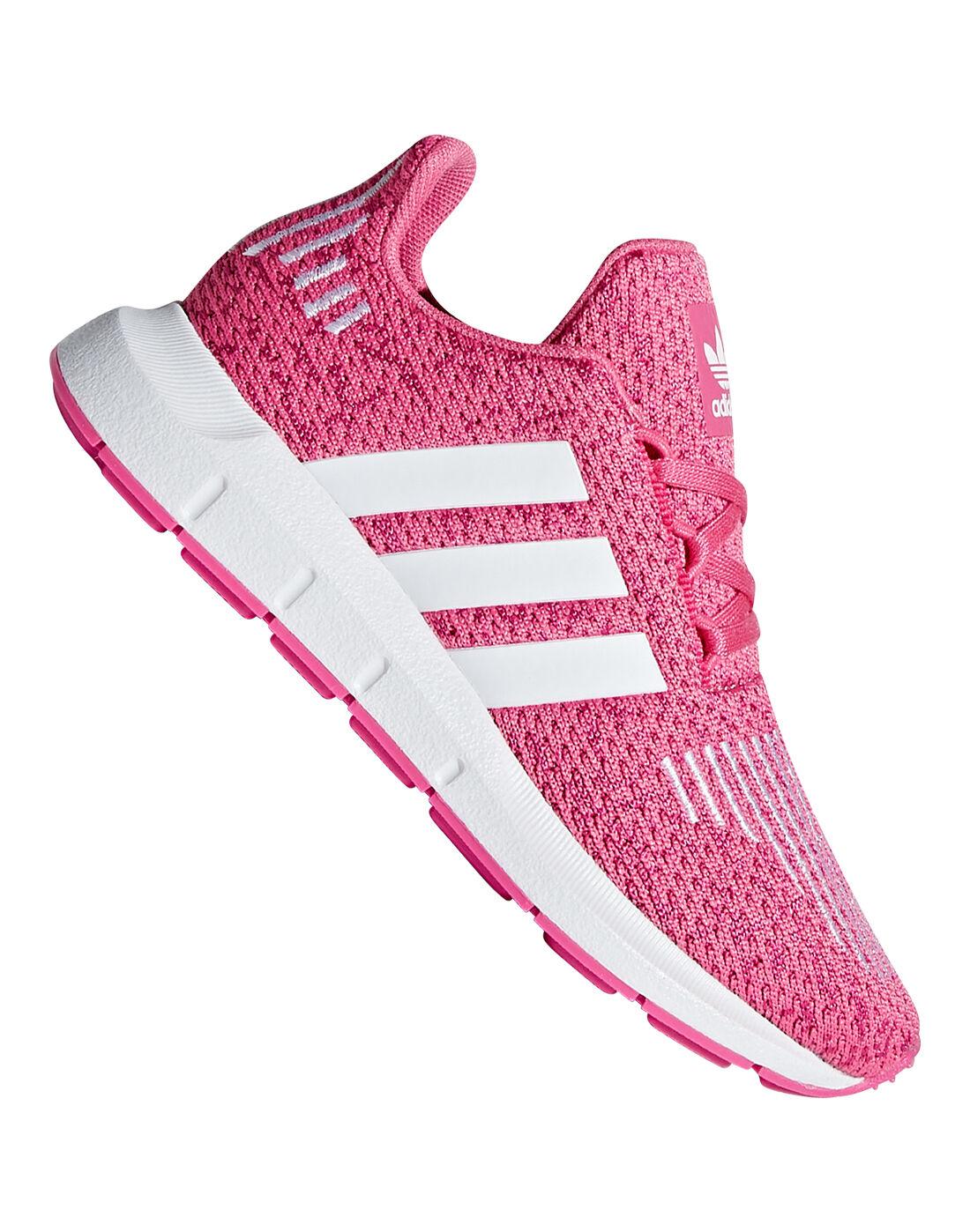 Pink adidas Originals Swift Runs