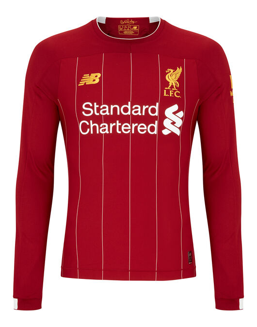 the latest 17a0c 5ec1c New Balance Adult Liverpool 19/20 Home Jersey