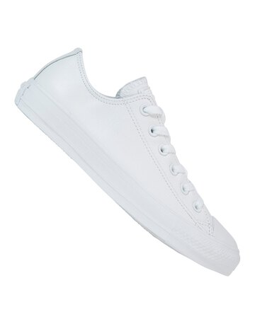 Womens All Star Ox Leather Mono