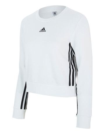 Womens 3-Stripe Sweatshirt