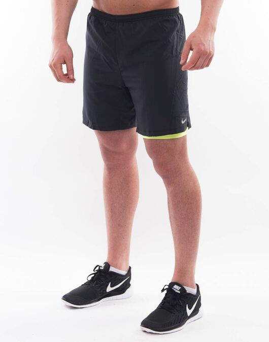 Mens 7 Inch Pursuit 2 in 1 Short
