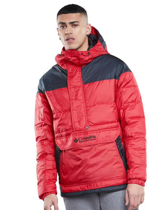 Mens Lodge Pullover Jacket