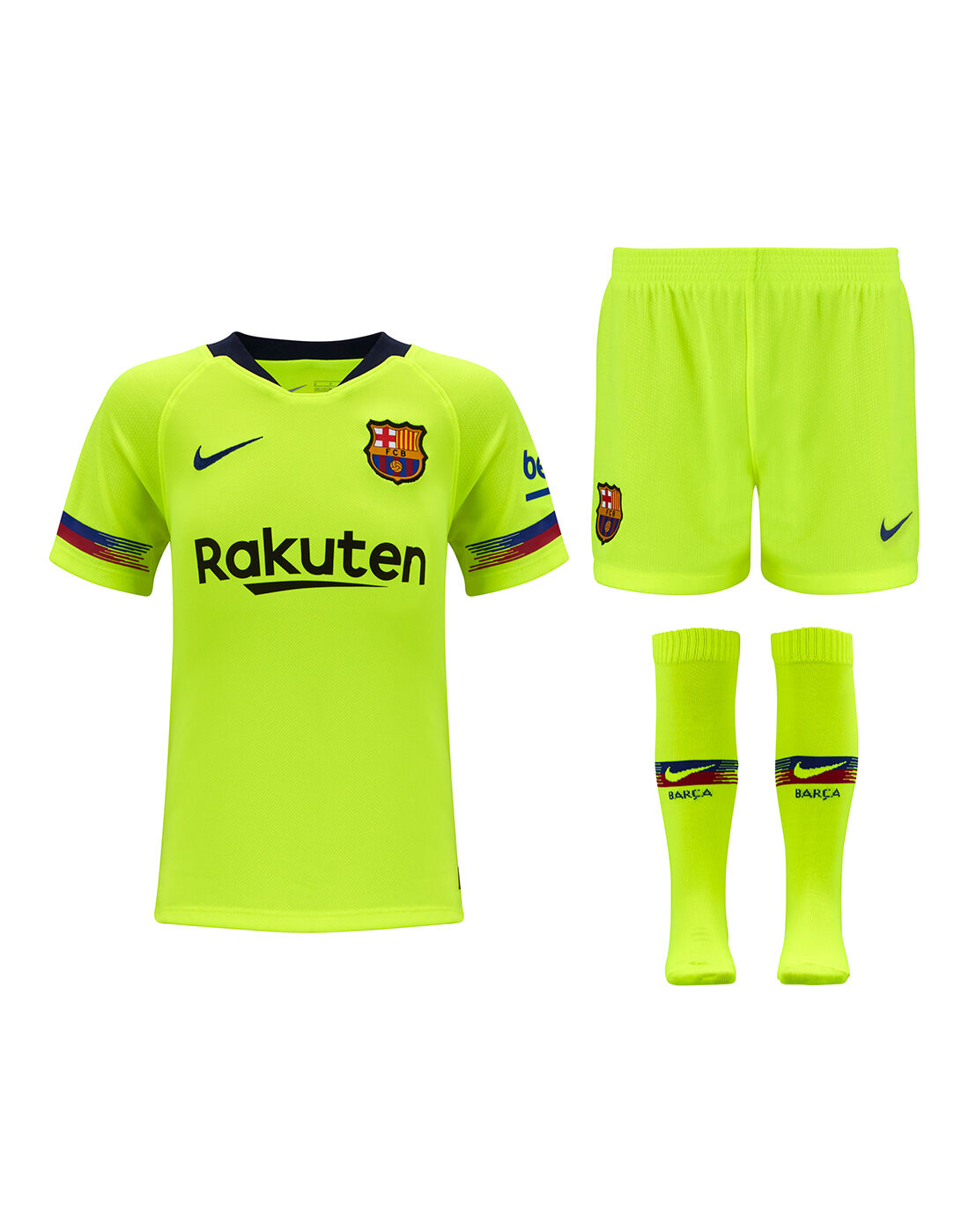 Barcelona Away Kids Football Kit