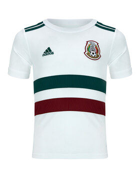 Kids Mexico WC18 Away Jersey