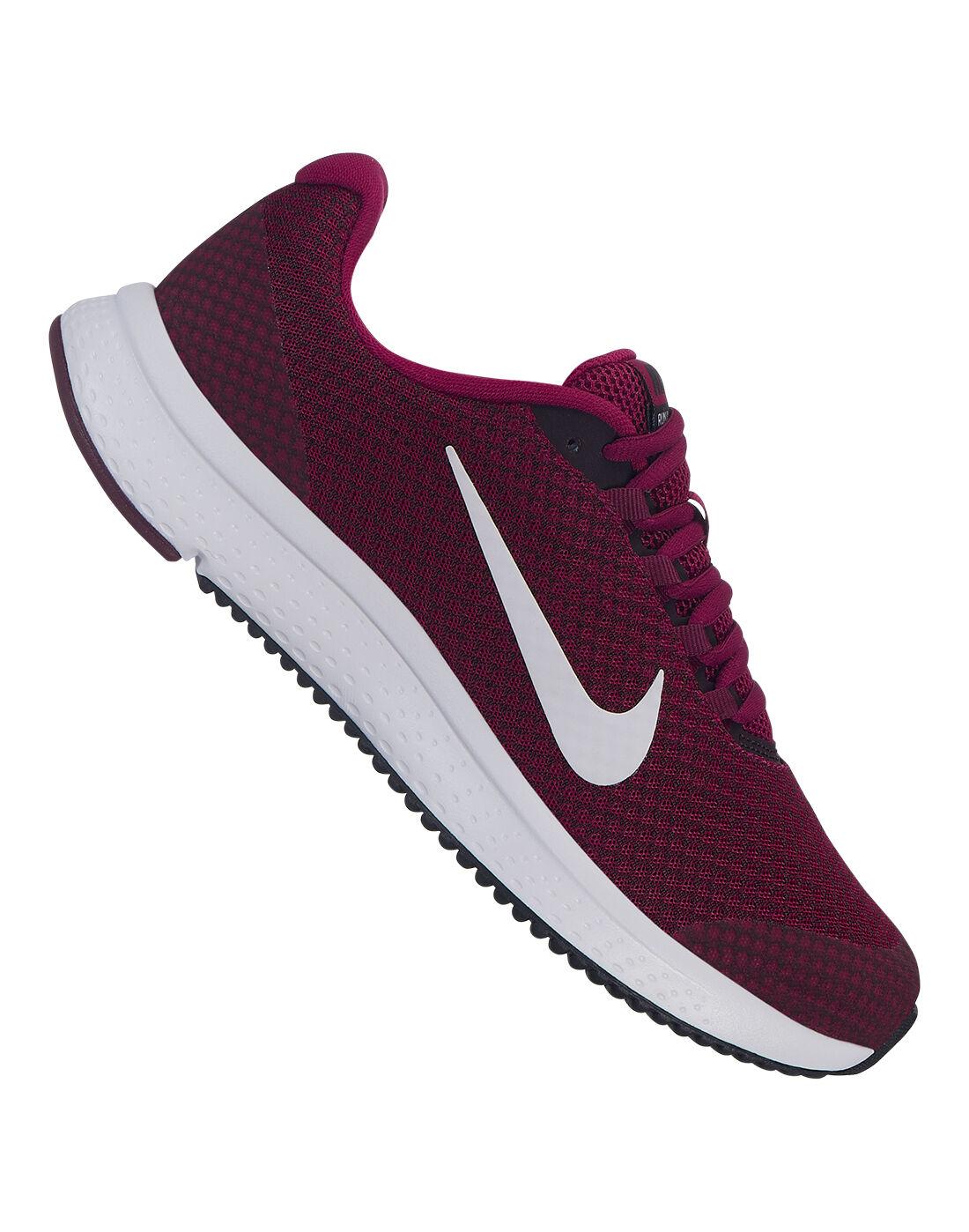 Women's Burgundy Nike Runall Day | Life