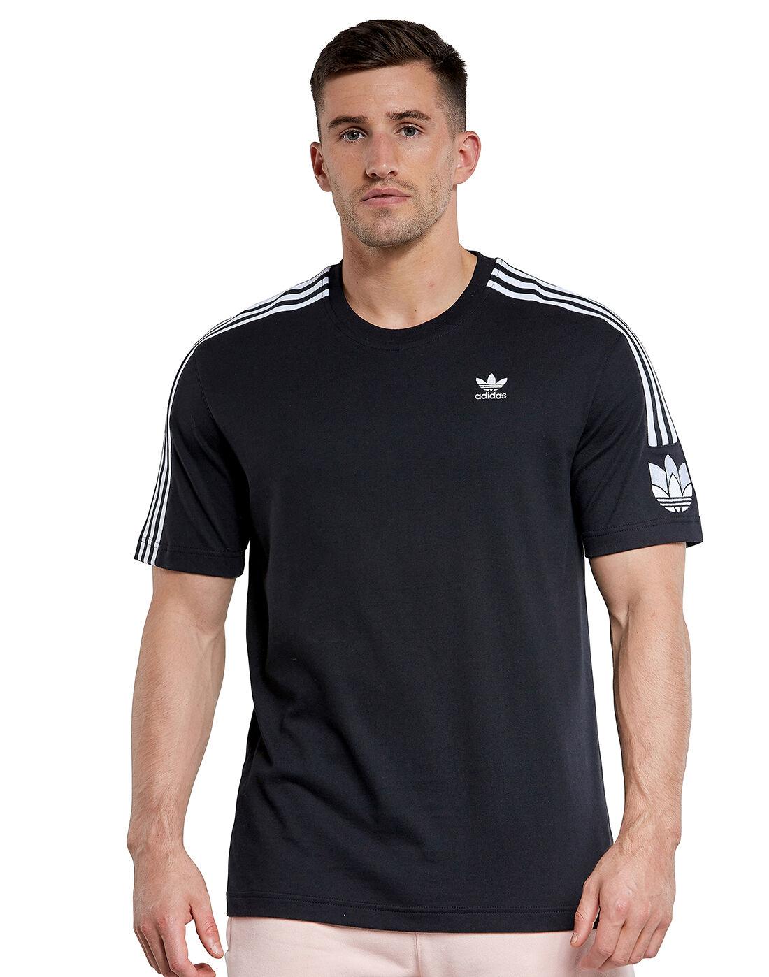 adidas Originals Mens 3D Trefoil Lock Up T Shirt
