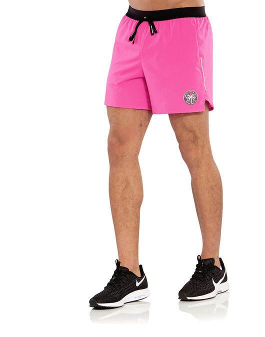 bar Reunión Confinar  Men's Pink Nike Flex Running Shorts | Life Style Sports