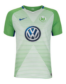 Adult Wolfsburg 17/18 Home Jersey