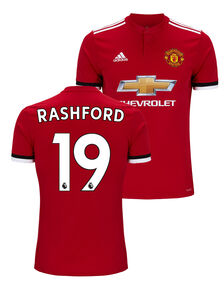 Kids Man Utd Rashford Home Jersey