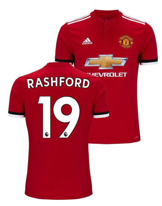 Kids Man Utd Rashford Home Jersey