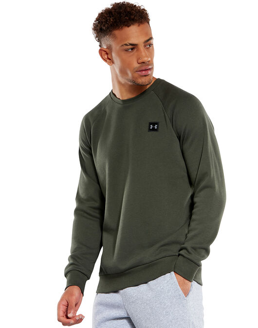 Under Armour Mens Rival Crew Sweatshirt by Under Armour