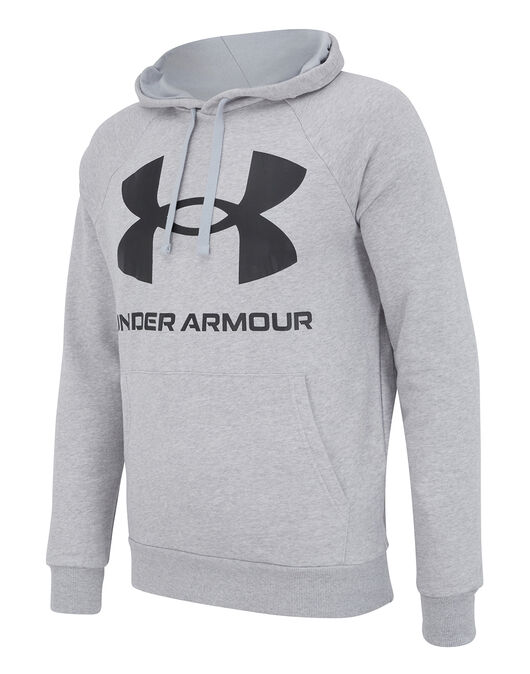 Mens Rival fleece Big Logo Hoodie