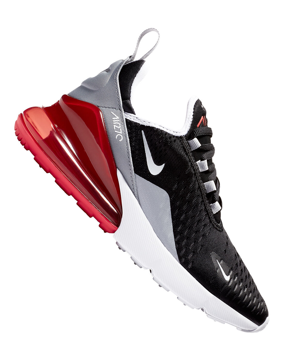Kid's Black \u0026 Red Nike Air Max 270