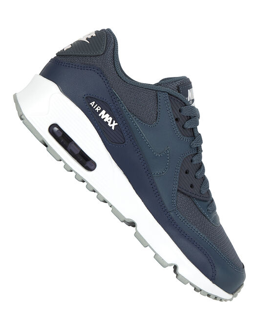 Perder la paciencia Rechazar Calle principal  Kid's Navy & White Nike Air Max 90 Mesh | Life Style Sports