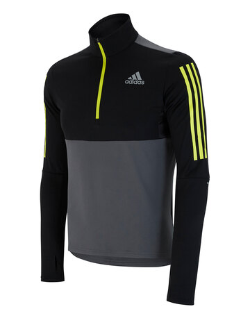 Mens Own The Run Half Zip