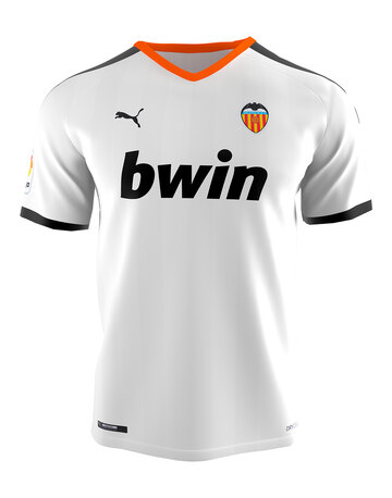 Adult Valencia 19/20 Home Jersey