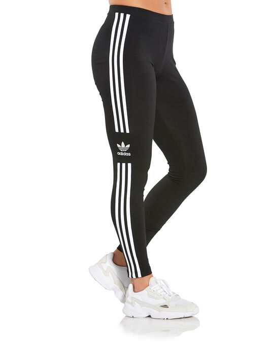 59141e94d3a Women's Black adidas Originals Trefoil Leggings | Life Style Sports