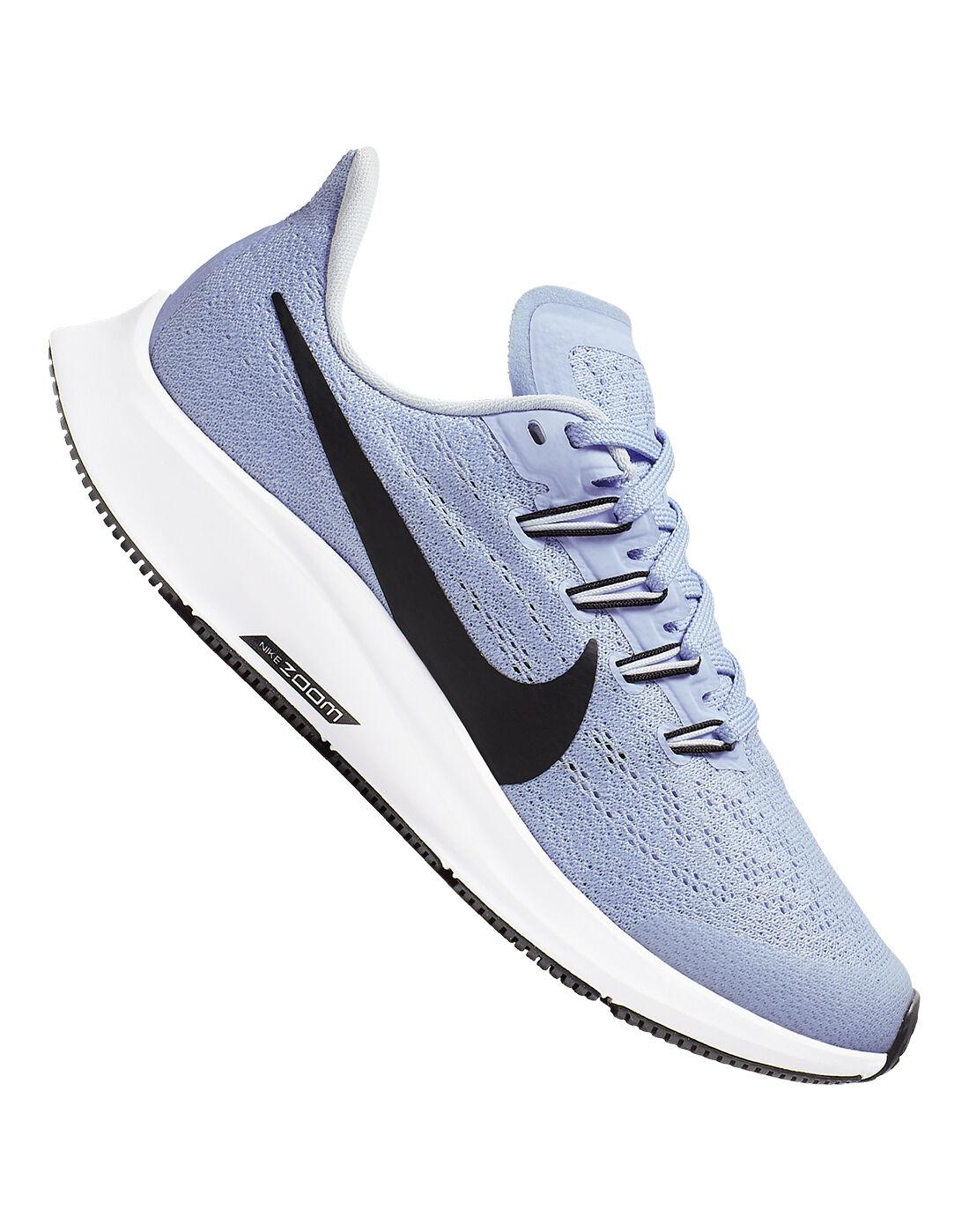Girl's Blue Nike Air Zoom Pegasus 36