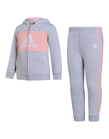 Infant Girls Full Zip Logo Tracksuit