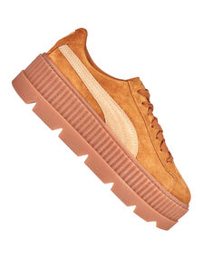 Womens Cleated Creeper Suede