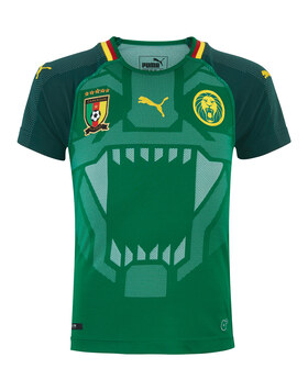 Kids Cameroon Home WC 18 Jersey