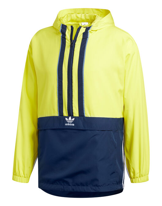 2cf5cf3bd8fc4 Men s Yellow adidas Originals Anorak Jacket