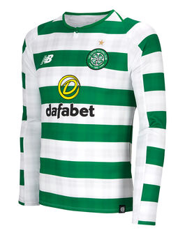 Mens Celtic 18/19 Home Jersey LS