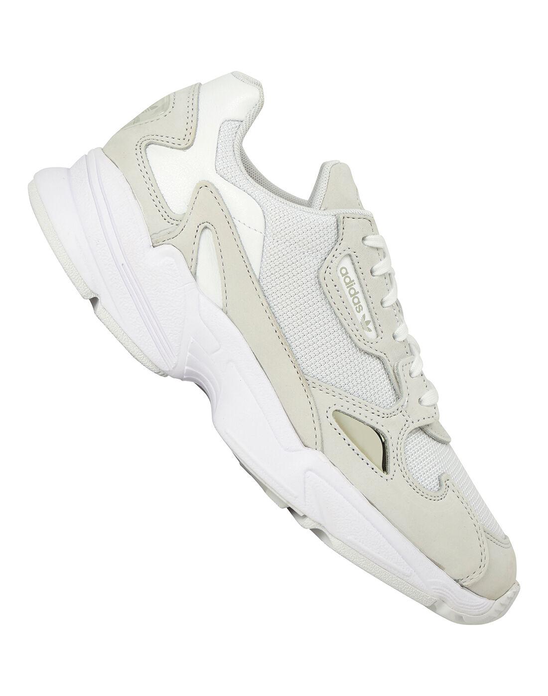 Cream White adidas Originals Falcon