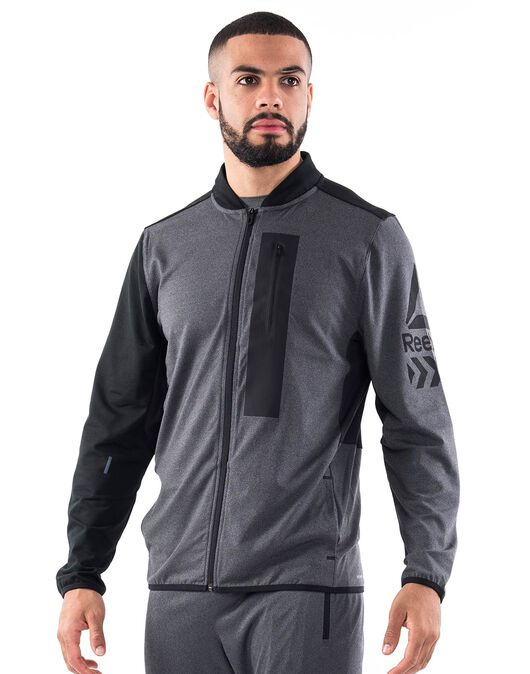 Mens Graphic Track Jacket