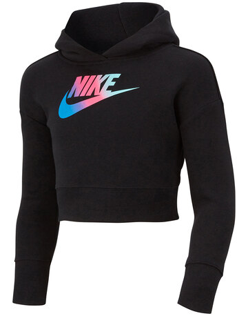 Older Girls Crop Hoodie