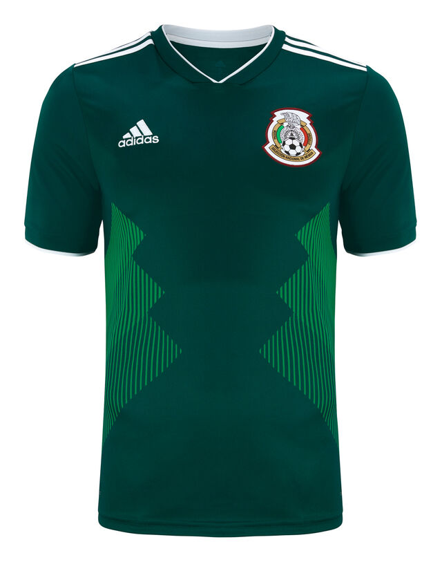 Adult Mexico WC18 Home Jersey