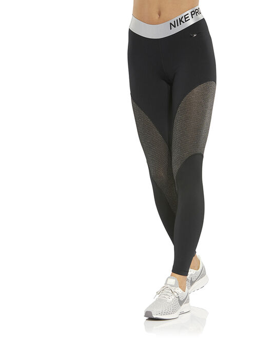 d8ee666435282 Women's Black Nike Pro Gym Tights | Life Style Sports
