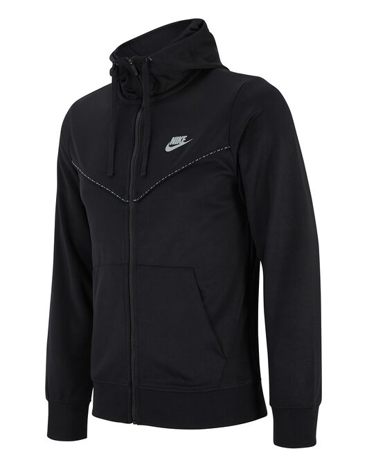 Mens Repeat Reflective Taping Hoodie