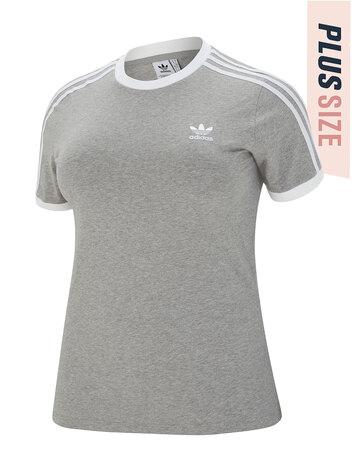 Womens 3-Stripe Plus T-shirt