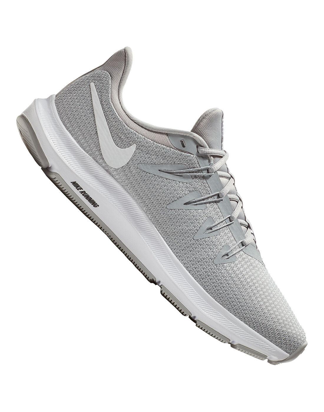 Women's Grey Nike Quest Running Shoes