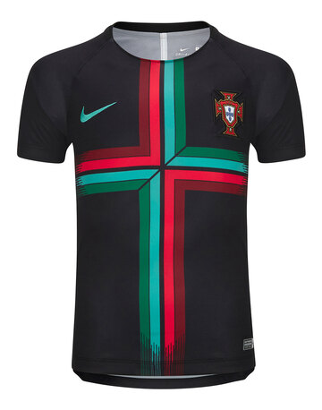 Kids Portugal P Match Jersey