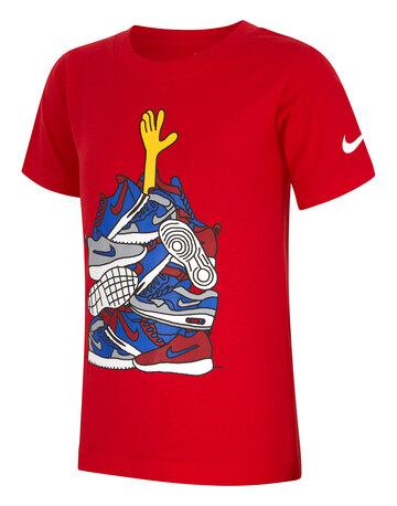 Younger Boys Sneaker T-Shirt