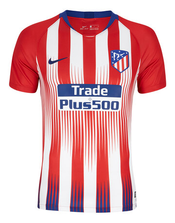 Adult Atletico Madrid Home 18/19 Jersey