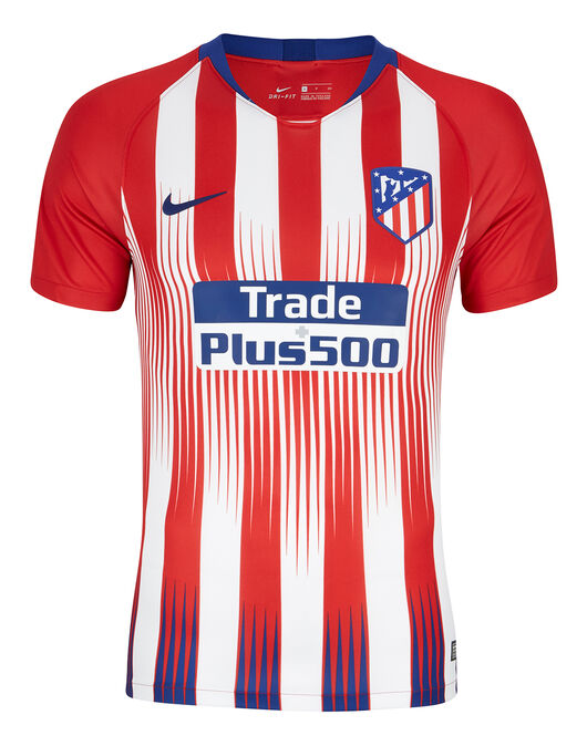 Nike. Adult Atletico Madrid Home 18 19 Jersey e9d810705