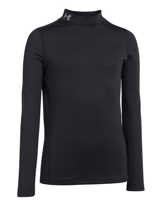ef496617 Under Armour Kids Coldgear Fitted Long Sleeve Mock