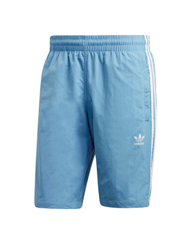 Mens 3-Stripe Swim Short
