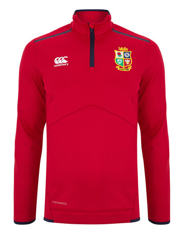 Adult British And Irish Lions 2021 Thermo Quarter Zip Top