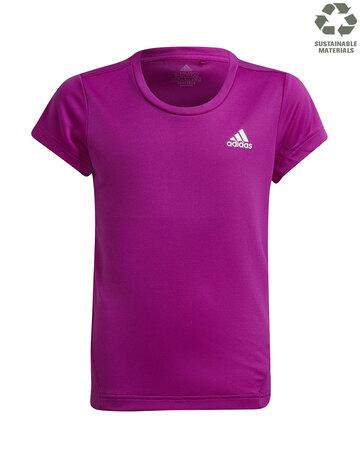 Older Girls 3 Stripe T-shirt