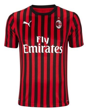 Adult AC Milan 19/20 Home Jersey