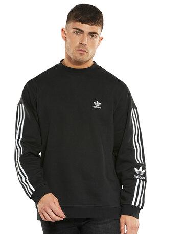 Mens Lock up Crew Sweatshirt